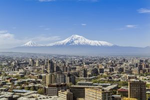 A view of Yerevan city with Ararat mountain. Photo by Artography