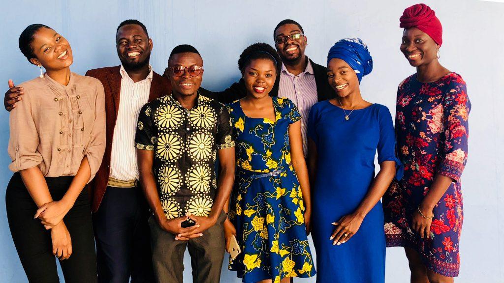2018 Mandela Washington Fellows attend a pre-departure orientation in Maputo, Mozambique. Photo courtesy of Embassy Mozambique
