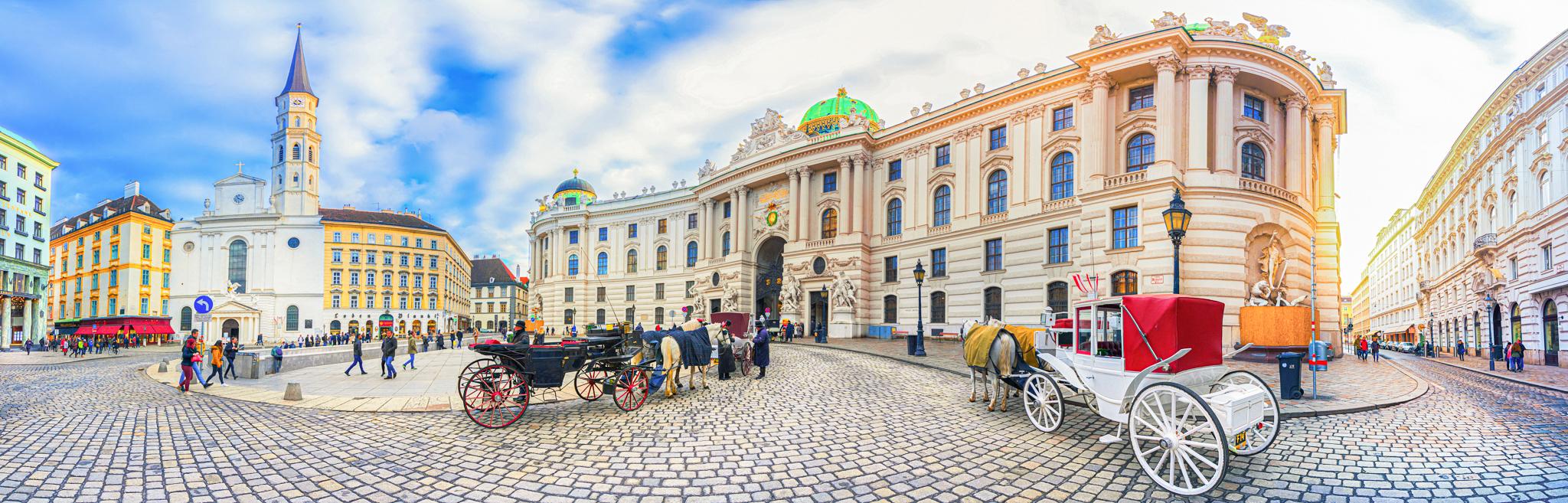 The Royal Palace of Hofburg in Vienna. Photo by Georgios Tsichlis