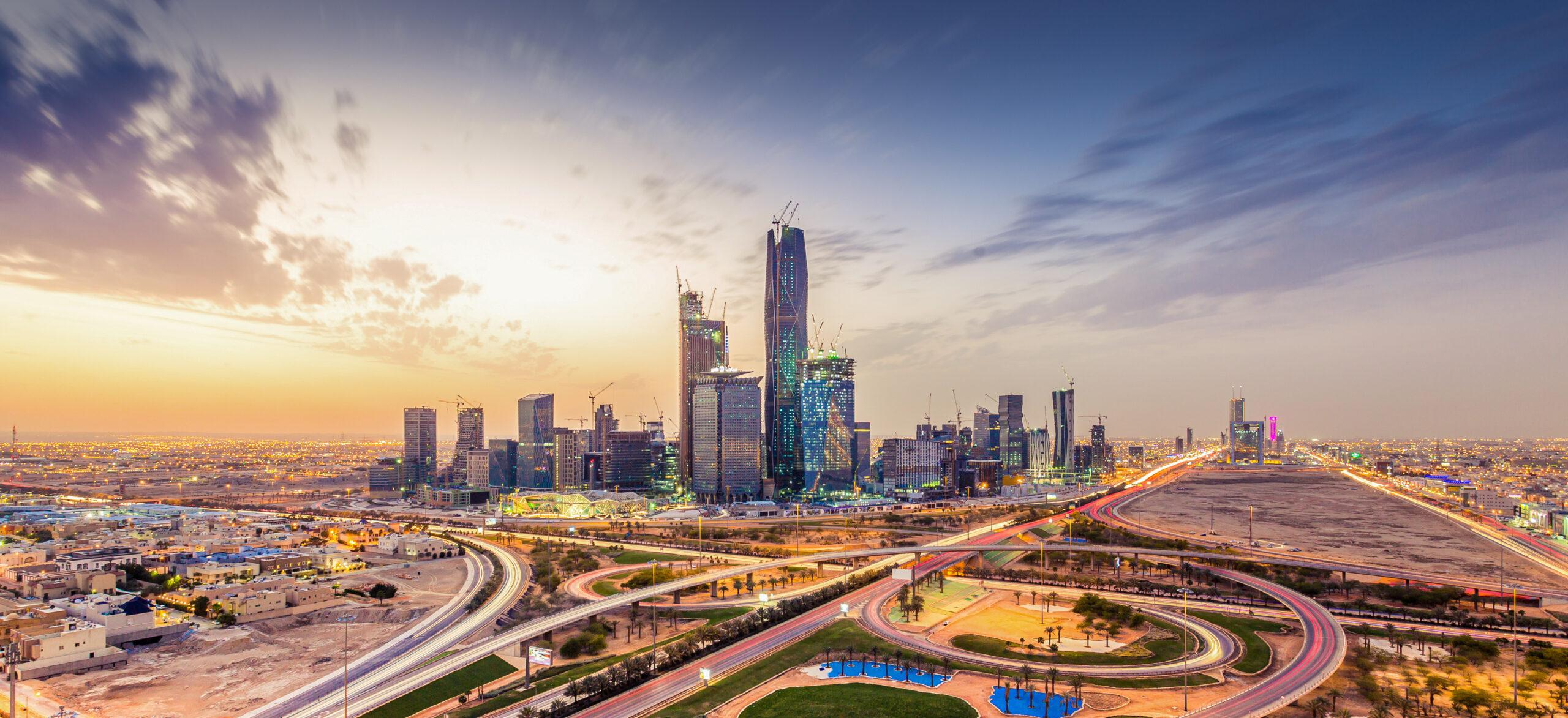 Riyadh city towers in Saudi Arabia. Photo by KhaledSaad001